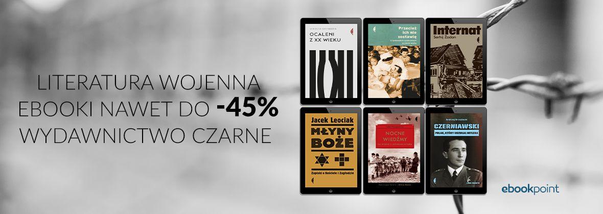 Promocja na ebooki Literatura wojenna / do -45%